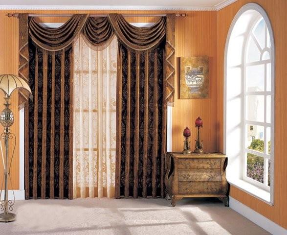 Rèm cửa phòng ngủ theo phong cách cổ điển