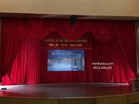 Báo giá phông rèm sân khấu hội trường giá rẻ tại Hà Nội