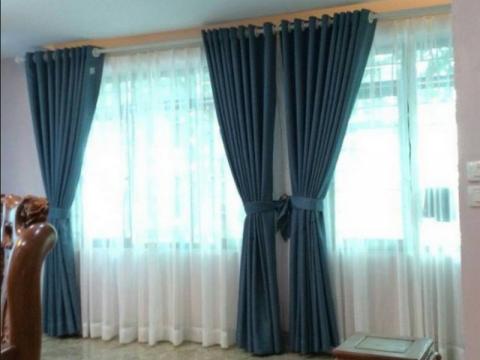 Vì sao nên chọn rèm vải hai lớp?