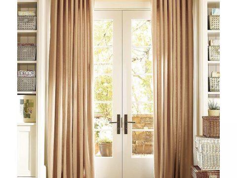Ứng dụng của rèm làm từ vải lụa