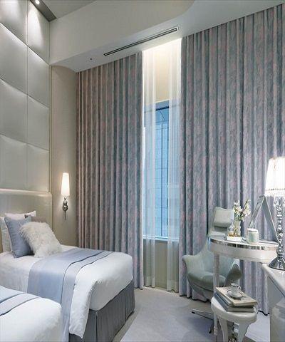 Lựa chọn rèm vải phù hợp nhất cho phòng ngủ.