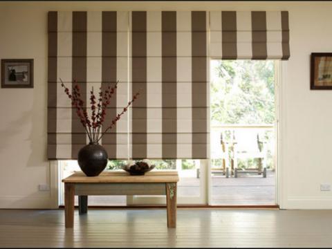 Mẫu rèm vải chống nắng phổ biến