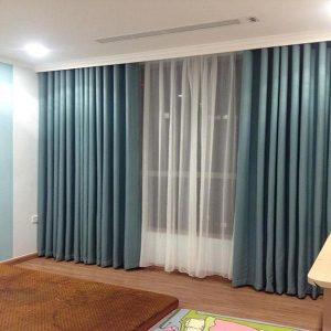 Rèm vải làm tăng tính thẩm mĩ cho căn phòng