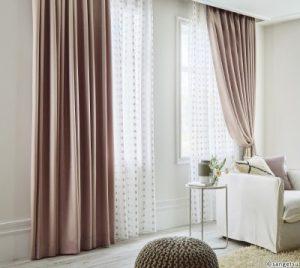 Sự sang trọng của rèm vải nỉ giá rẻ tại Hà Nội